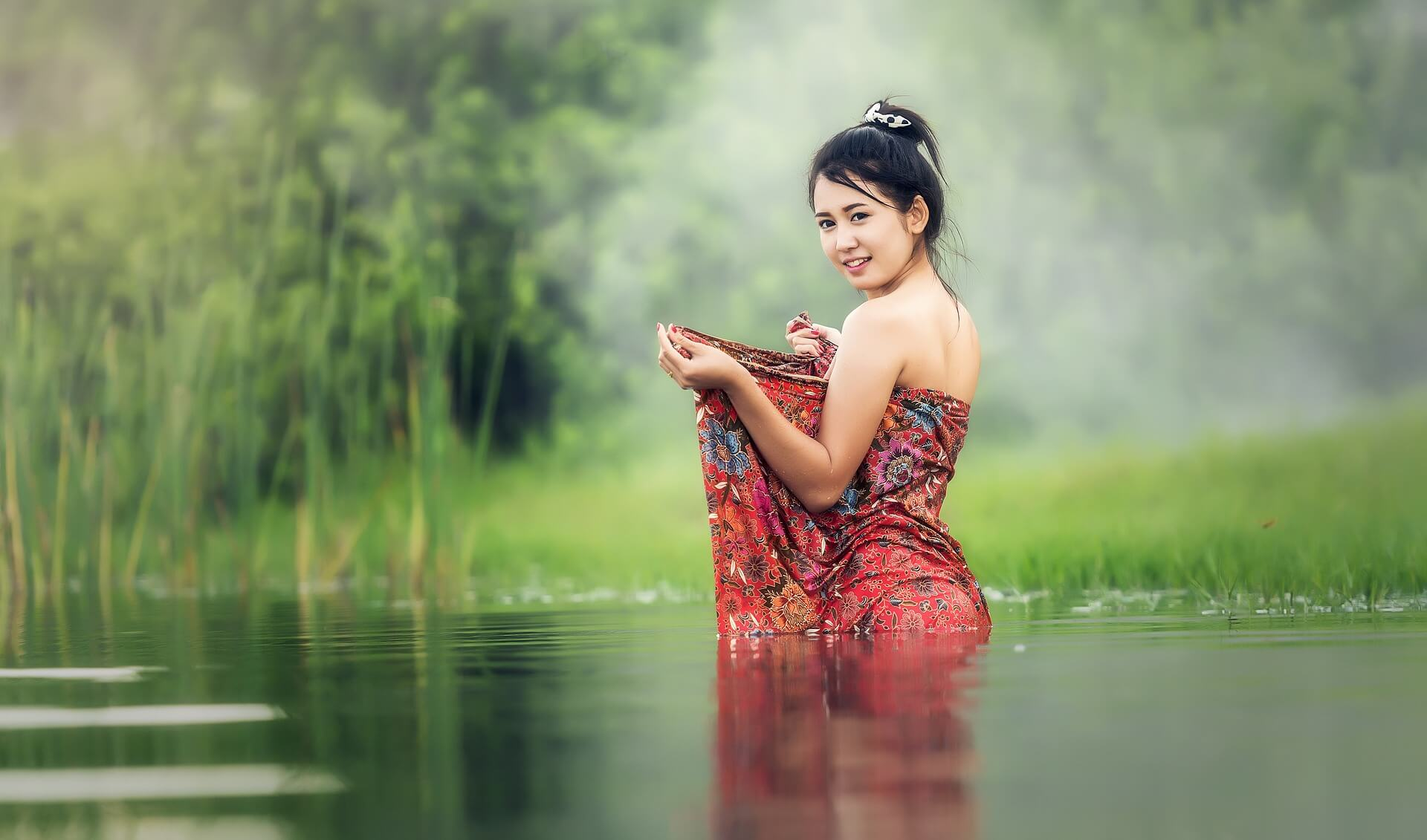 Thai Frauen die nach Deutschland wollen - Asiatische Frauen aus dem Katalog